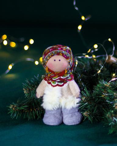 Лялька Юстина. Різдвяна серія La Petite Вертеп - дитина