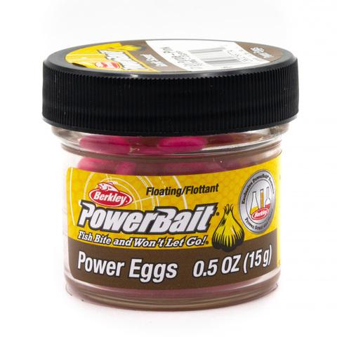Приманка силиконовая Berkley Powerbait Floating Eggs Garlic Purple Pink (1313113) Имитация икры плавающая