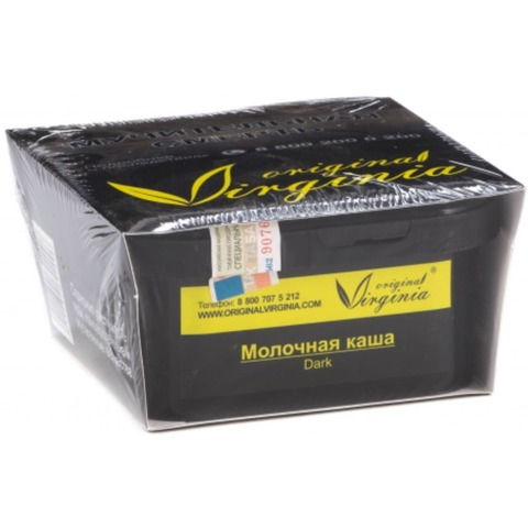 Табак Original Virginia Dark Молочная каша 200г