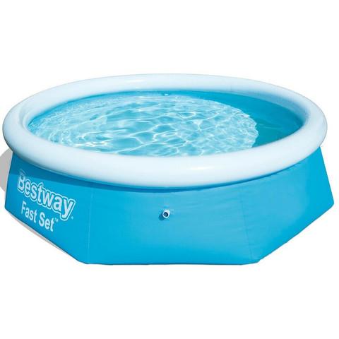 Надувной круглый бассейн Bestway 57265 (244x66 см) / 15577