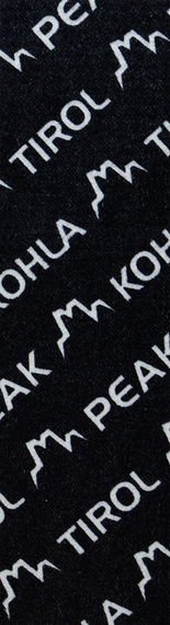 Камус Mohair Mix 120мм, Black