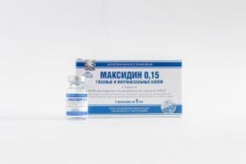 Maxidin 0.15 (drops eye and intranasal) package 25 ml