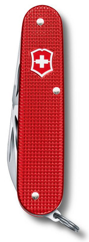 Нож Victorinox Alox Cadet, 84 мм, 9 функций, красный (подар. упаковка)