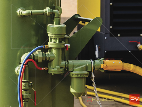Блок дистанционного управления пескоструйным аппаратом RCV