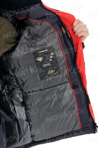 Костюм зимний Соболь таслан, серый GRAYLING Novatex