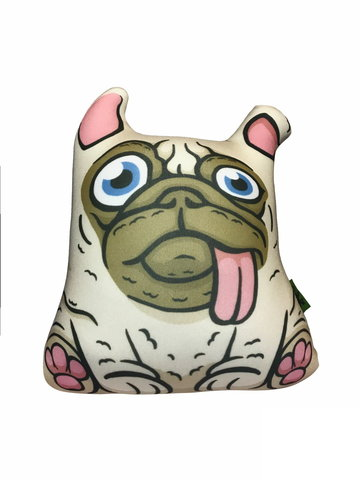 Подушка-игрушка «Озорной Мопс»-2