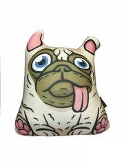 Подушка-игрушка антистресс Gekoko «Озорной Мопс» 2