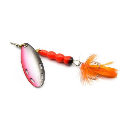 Блесна Extreme Fishing Certain Obsession №3 12g 14-FluoRed/WhRedBlack