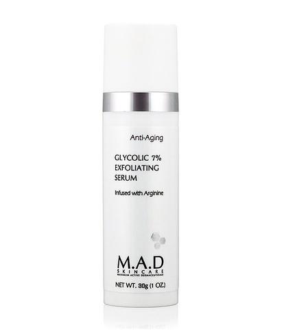 Сыворотка отшелушивающая  с 7% гликолевой кислотой M.A.D Skincare Anti-Aging Glycolic 7% Exfoliating Serum, 30 гр
