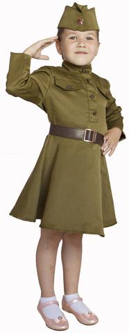 Военная форма Платье ВОВ для девочки