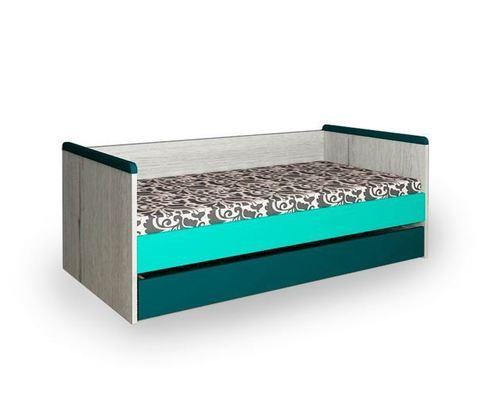 Кровать малая с дополнительным спальным розовая НьюТон
