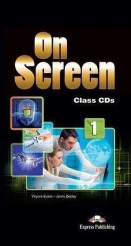 On Screen 1. Class CD's (set of 5) International. Аудио CD для работы в классе