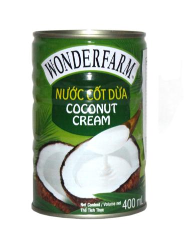 Кокосовые сливки Wonderfarm - 400 мл.
