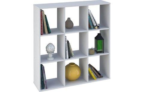 Стеллаж Polini Home Smart Кубический 9 секций, белый