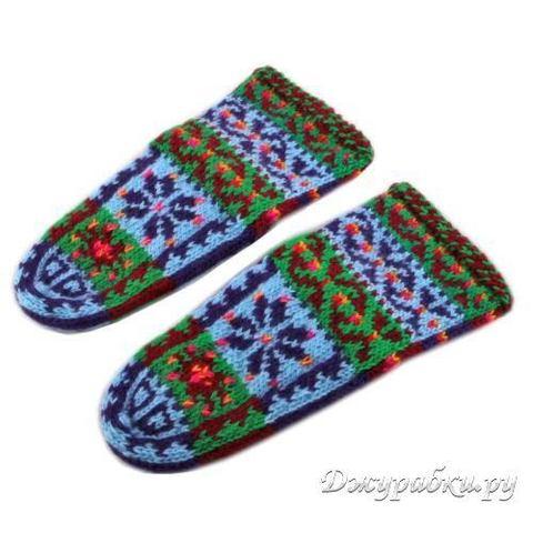 Джурабки детские вязаные носки 0073