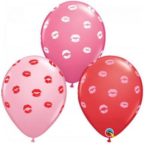 Шары I love you губы