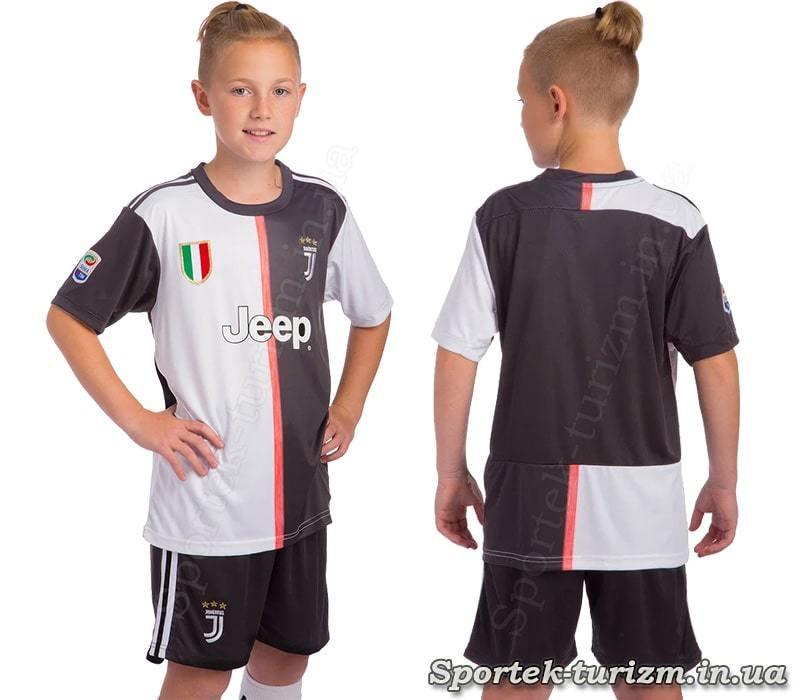 Футбольная форма для детей и подростков JUVENTUS CO-0959 ростом 110-155 см