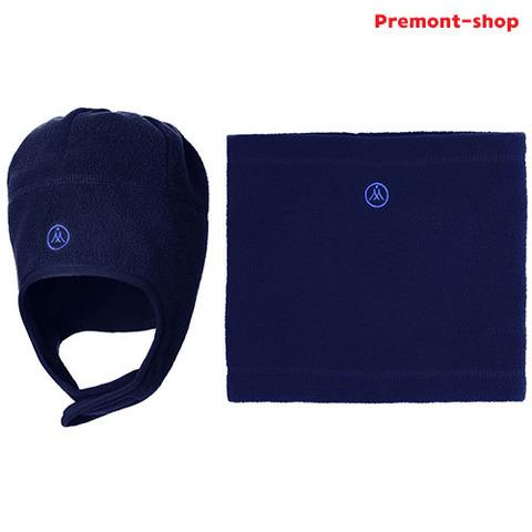 Premont Шапка и шарф-снуд WP82902 Dark Blue