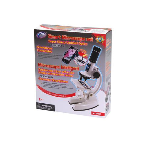 Микроскоп 100/450/900x SMART (8012)