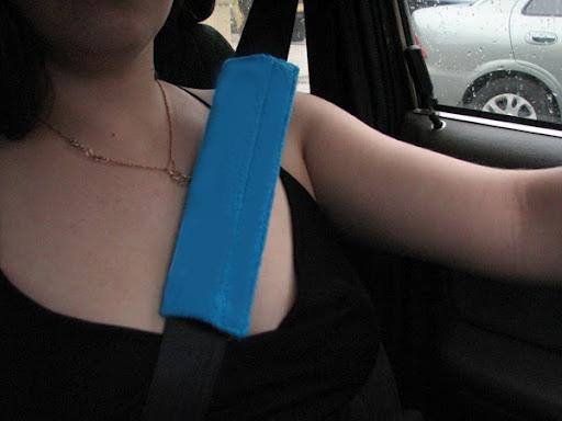 Накладки на ремни безопасности