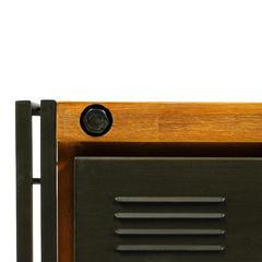 Комод Secret De Maison CITY ( mod. CTY D01) металл/дерево акация,  коричневый дым (smoke brown B034)