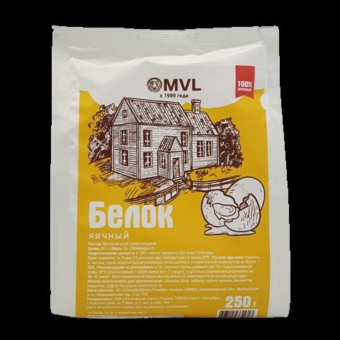Белок яичный MVL, 250 гр