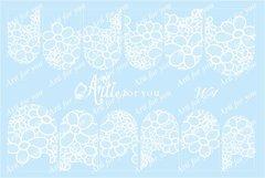 Слайдер наклейки Arti for you цвет белый №W1