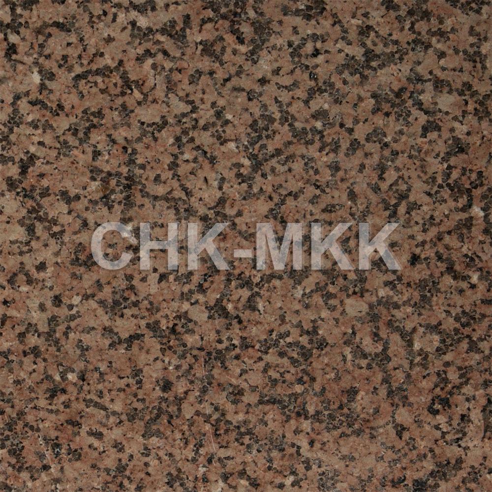 Бордюрный камень из гранита Джиль тау розовый