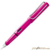 Перьевая ручка Lamy Safari 013 розовая перо M (4000100)