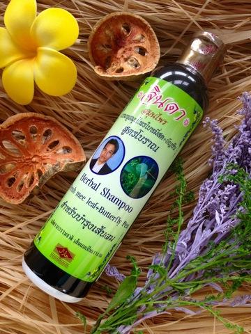Травяной шампунь Jinda от выпадения волос