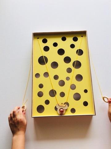 Игра на развитие координации Мышка с мячиком Сенсорика