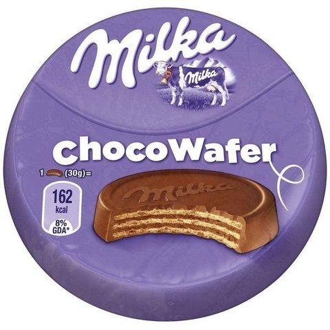 Вафли Milka Choco Waffer в индивидуальной упаковке 30 гр Польша