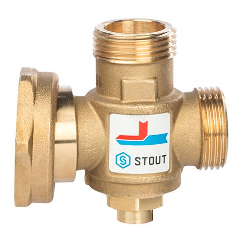 Клапан термостатический смесительный STOUT -  1