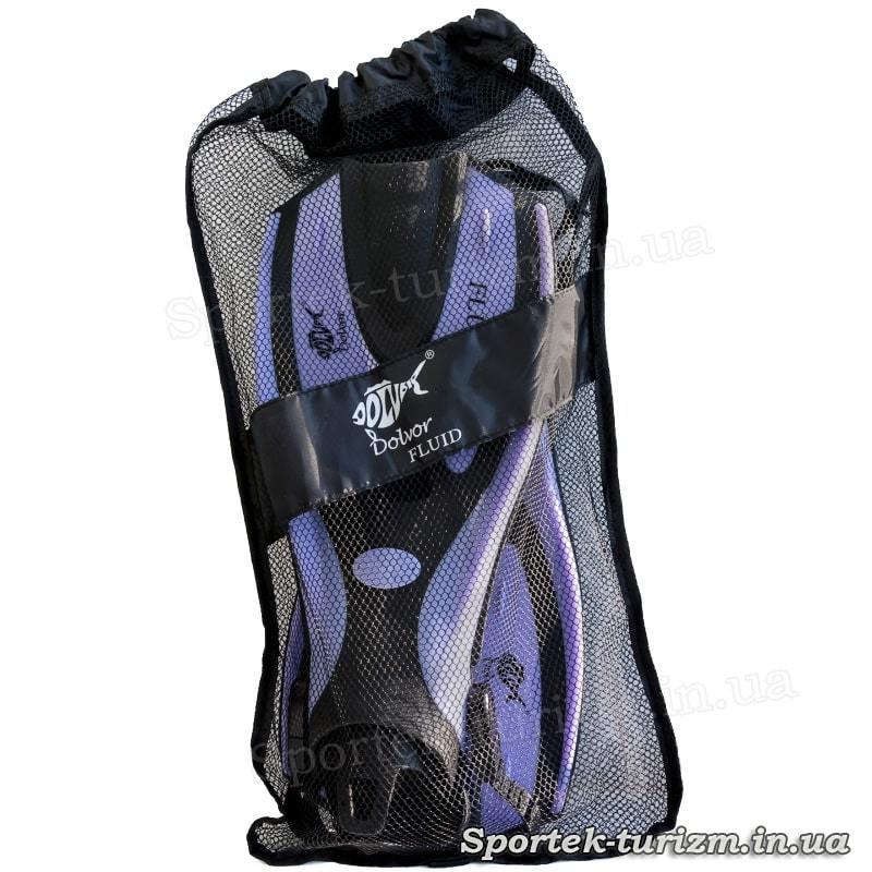 Ласты Dolvor Fluid S/M (размер 36-39) F70 - упаковка