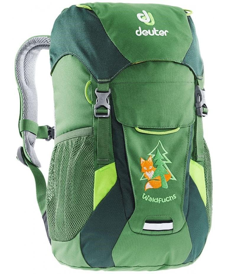 Детские рюкзаки Рюкзак детский Deuter Waldfuchs зеленый deuter-waldfuchs-leaf-forest-3610015-2238-1.jpg