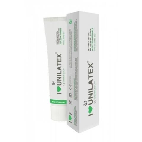Unilatex Gel Aloe Vera + Vitamin E Интимный гель на водной основе