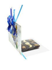 Шоколад на финиковом пекмезе с орехами,