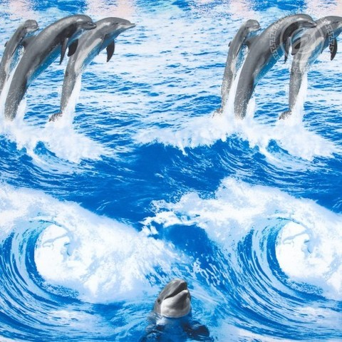 Комплект постельного белья Дельфины DE LUXE
