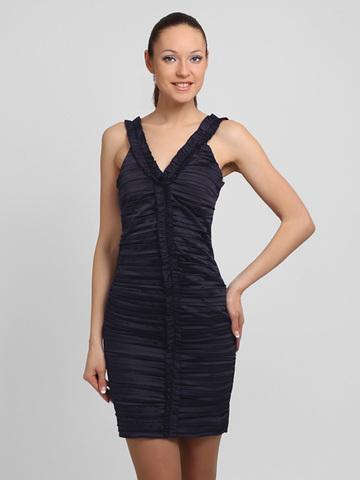 53084 платье, темно-синее