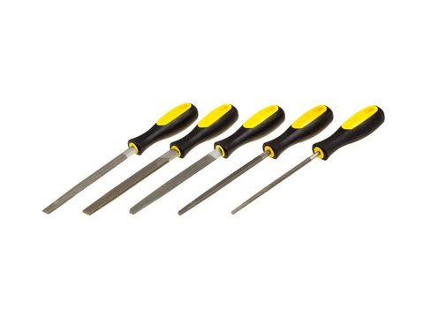 STAYER PROFI набор напильников, двухкомпонентная рукоятка, 150мм
