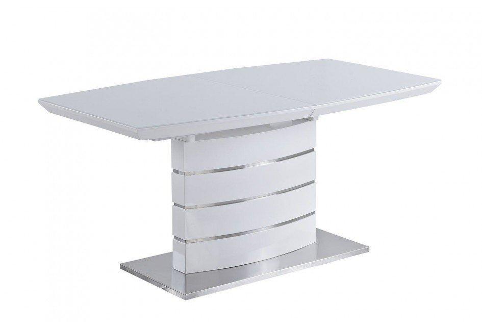 Стол обеденный AVANTI GALAXY (160) WHITE (белый)