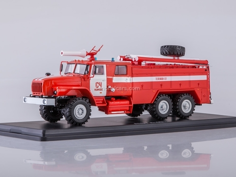 Ural-4320 AC-7,5-40 SCh Ivanovo 1:43 Start Scale Models (SSM)
