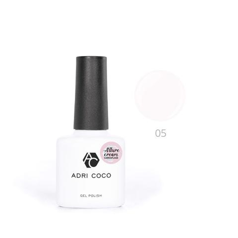 Гель-лак ADRICOCO Est Naturelle №05 камуфлирующий молочный (8 мл.)