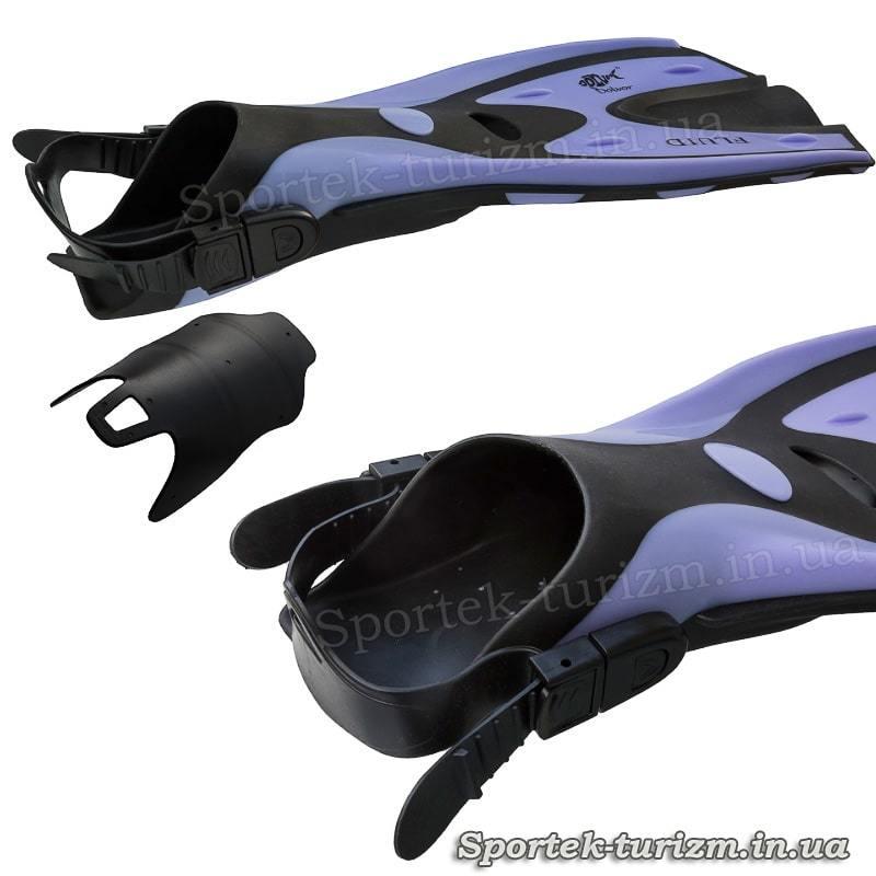 Ласты Dolvor Fluid S/M (размер 36-39) F70 - виды