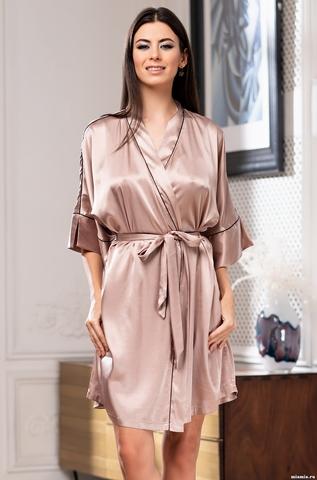 Короткий халат Mia-Amore Gabriela (70% нат.шелк)