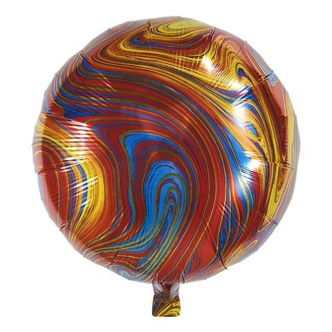 Воздушный шар Круг - Агат (Красный)