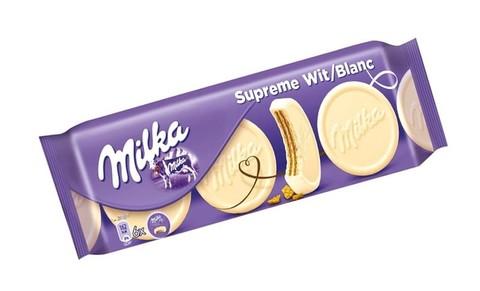 Вафли Milka Сhoco waffer white 180 гр