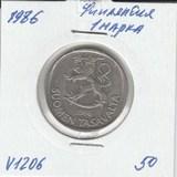 V1206 1986 Финляндия 1 марка