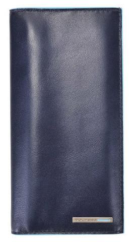 Портмоне Piquadro Blue Square, синее, 18х9,5х1 см