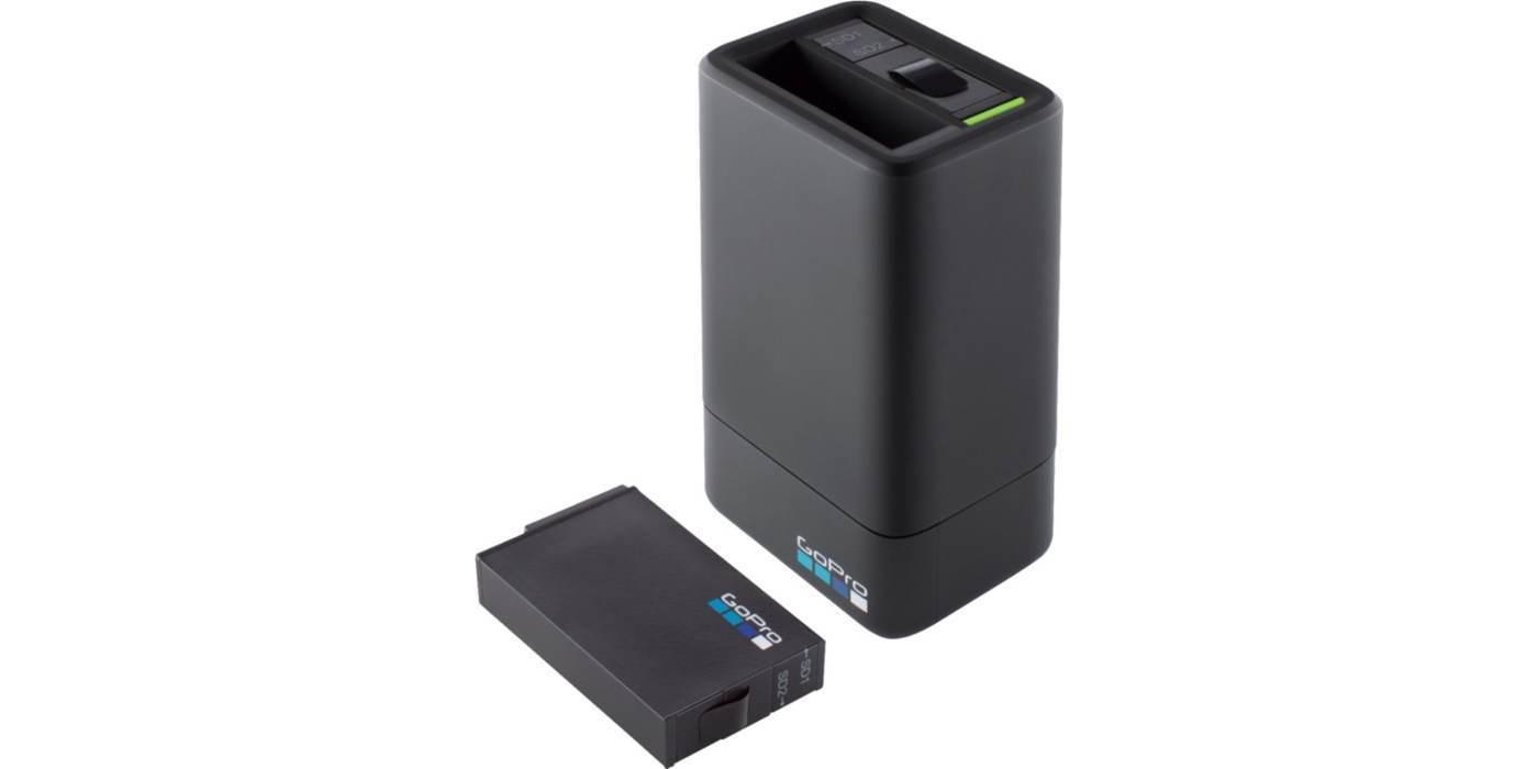 Зарядное устройство для двух аккумуляторных батарей GoPro FUSION Dual Battery Charger + Battery (ASDBC-001)